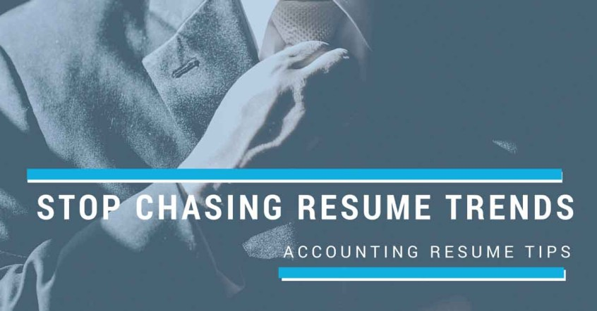 Accounting Resume Trends