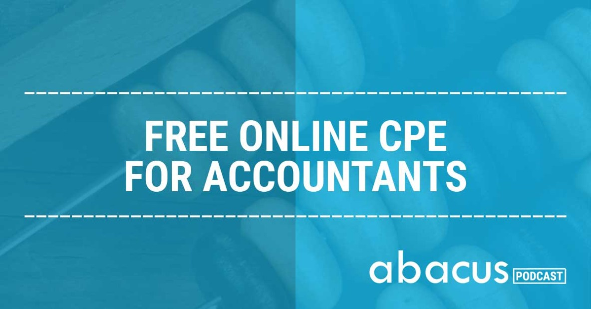 Free Accounting CPE online (CPA/CMA/CFE)
