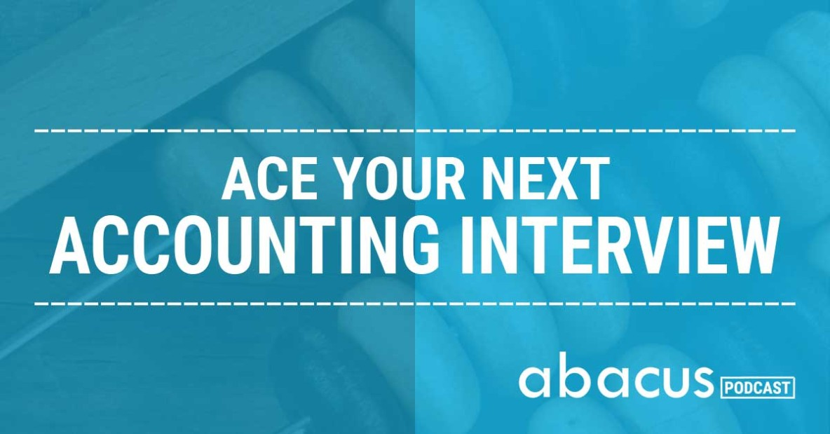 how to prepare for an accounting interview