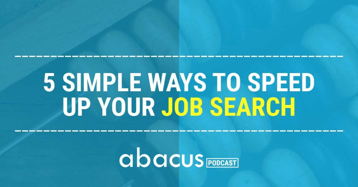 accounting job search tips