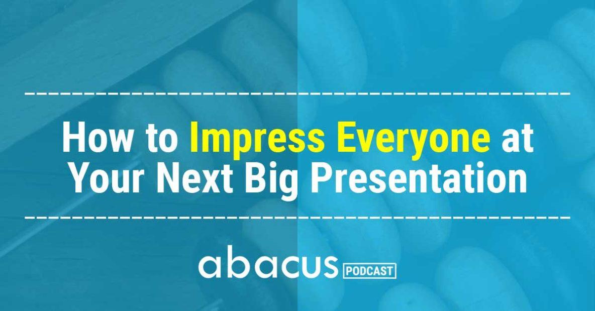 presentation skills for accountants