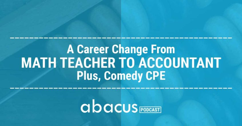 accounting career change
