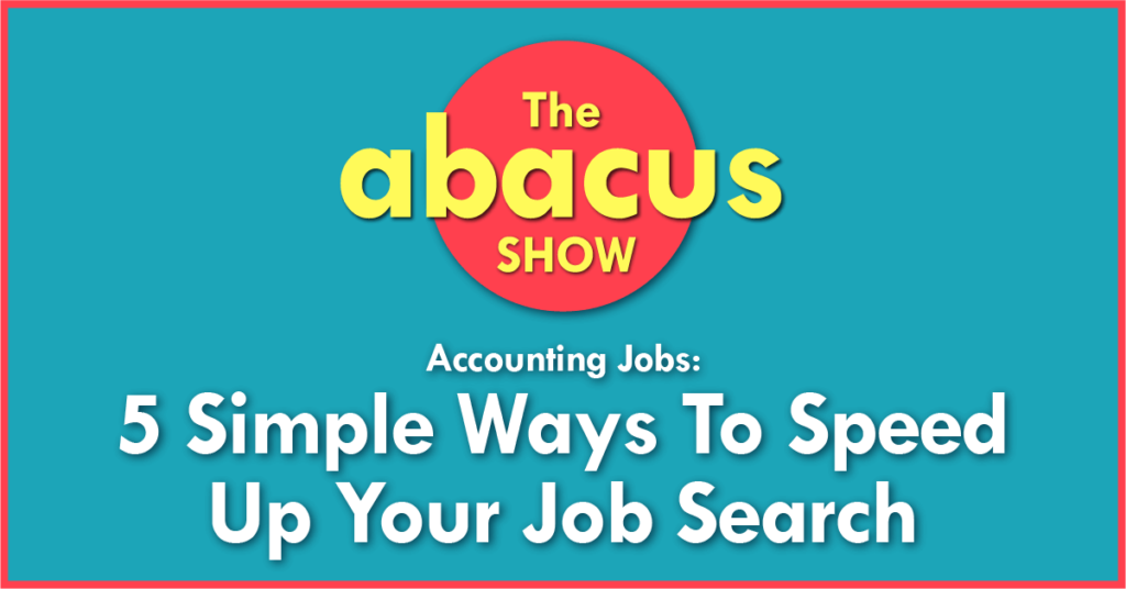 accounting job search tips
