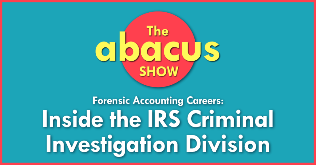 Forensic Accounting Careers IRS