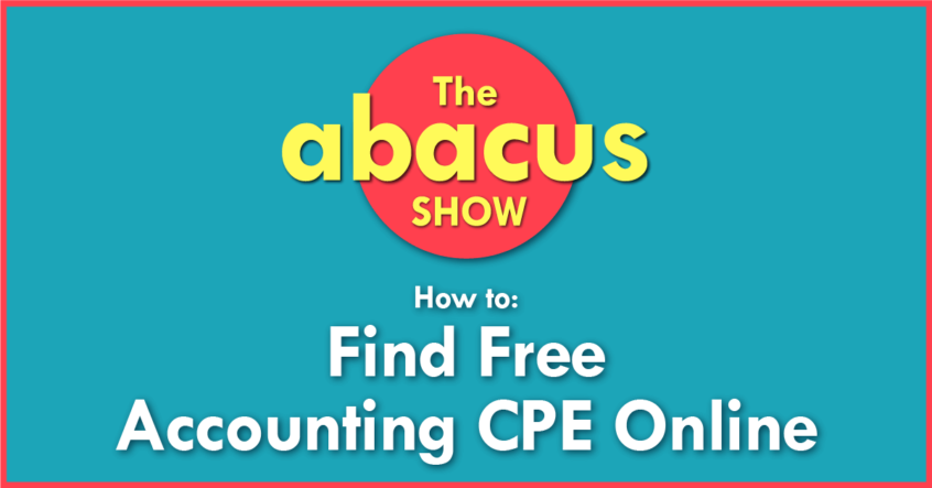 Free CPE courses for accountants
