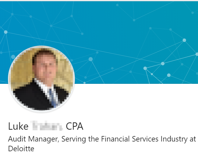 Certified public accountant - audit LinkedIn Headline example